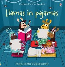 Llamas in Pajamas (Usborne Phonics Readers)