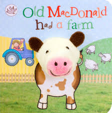 Little Learners Old MacDonald Had a Farm (Finger Puppet Book)