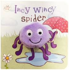 Little Learners Incy Wincy Spider (Finger Puppets)