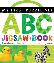 My First Puzzle Set : ABC Jigsaw and Book