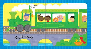 Usborne : Baby's Very First Noisy Train