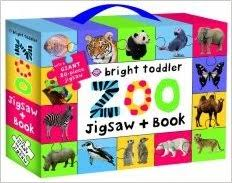 Bright Toddler : Zoo Jigsaw and Book