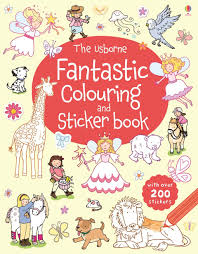 Usborne's Fantastic and Colouring Book