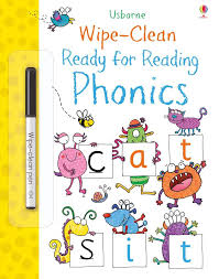 Wipe Clean Ready for Reading Phonics