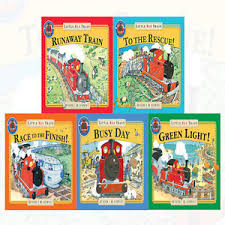 Little Red Train First Readers Collection : Set of 5