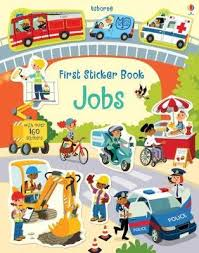 Usborne First Sticker Book : Jobs