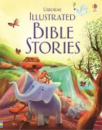 Usborne Illustrated Bible Stories (Hardcover)