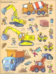 Usborne First Sticker Book : Building Sites