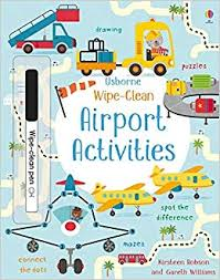 Wipe Clean Airport Activities