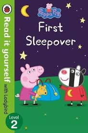 Peppa Pig : First Sleepover (Early Reader)