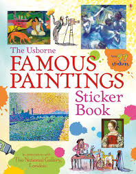 The Usborne Famous Paintings Sticker Book