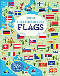 Usborne First Sticker Book : Flags