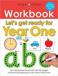 Let's Get Ready for Year One Workbook (Wipe-Clean)