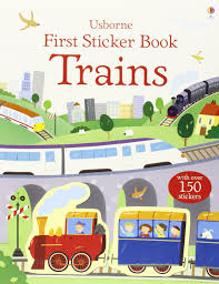 Usborne First Sticker Book : Trains