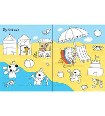 Usborne First Colouring Book Holiday