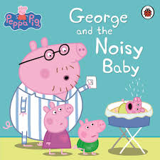 Peppa Pig : George and the Noisy Baby (Paperback)
