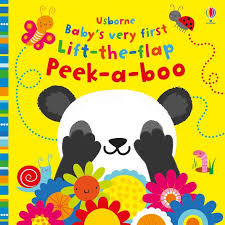 Usborne Baby's Very First Lift-the-Flap Peek-a-book