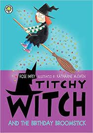 Titchy Witch and the Birthday Broomstick