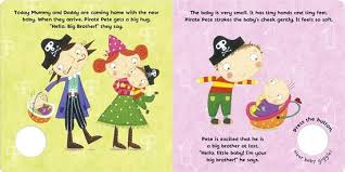 Pirate Pete : I'm a New Big Brother (Board book with sound)