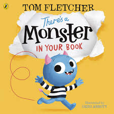 There's a Monster in Your Book (Board Book)