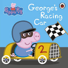 George's Racing Car (Boardbook)