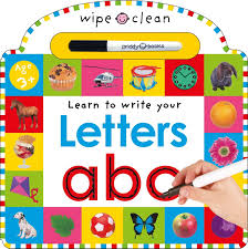 Letters abc (Wipe Clean Learning)