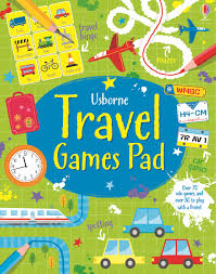 Usborne Travel Games Pad (Tear Off Pads)