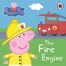 Peppa Pig : The Fire Engine (Boardbook)