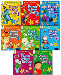 Songbirds Phonics Activity Books : Set of 8