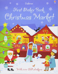 First Sticker Book : Christmas Market