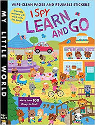 I Spy Learn and Go (My Little World)