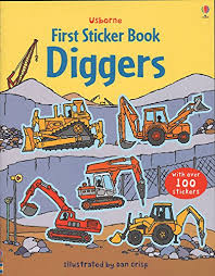 Usborne First Sticker Book : Diggers