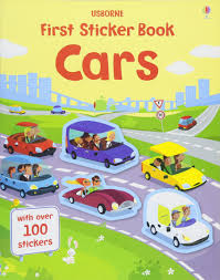 Usborne First Sticker Book : Cars