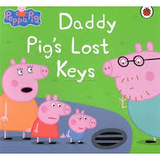 Daddy Pig's Lost Keys (Paperback)