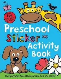 Preschool Sticker Activity Book (Priddy Books)