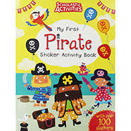 My First Pirate Sticker Activity Book (Scholastic Activities)