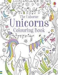 Unicorn Colouring Book (Usborne)