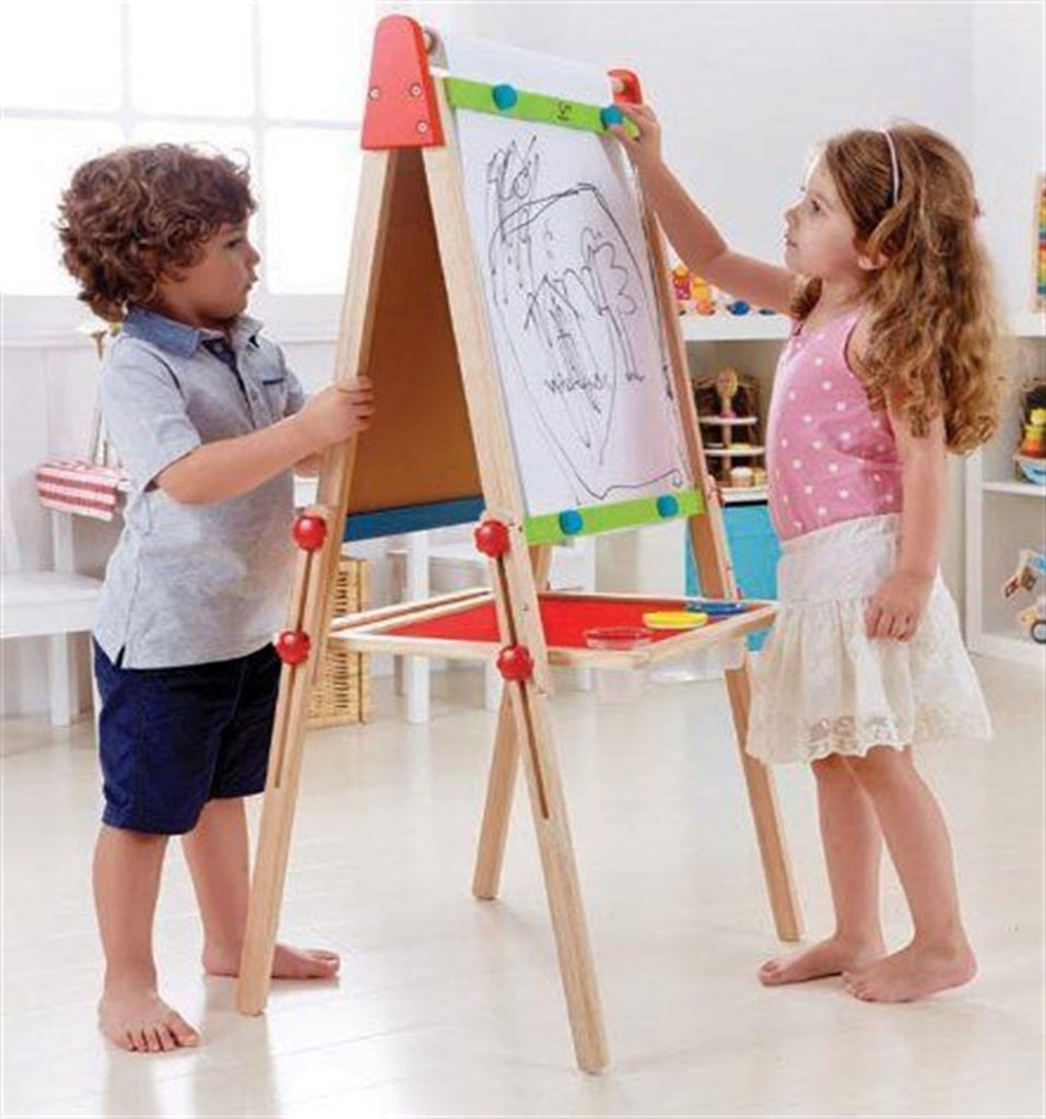 All In 1 Adjustable Magnetic Easel