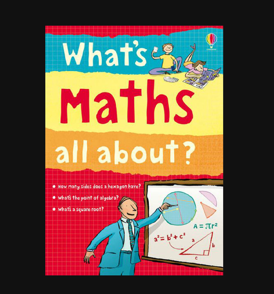 Usborne What's Maths All About? (Paperback)