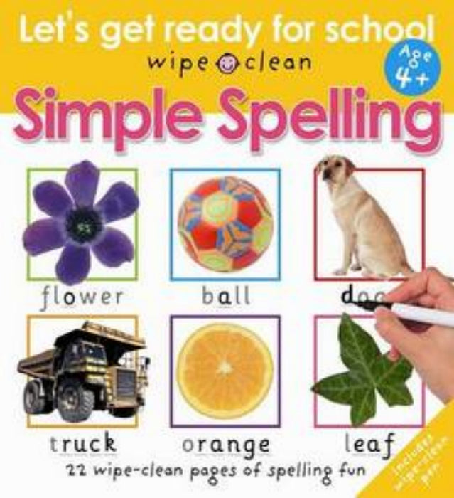Let's Get Ready For School - Simple Spelling
