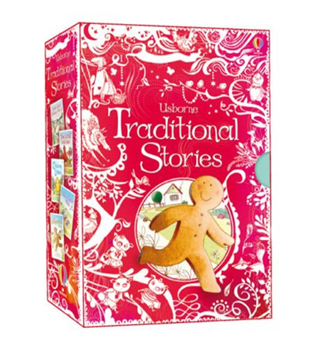 Usborne Traditional Stories Gift Set of 5 Books