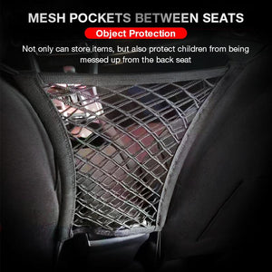 Car Seat Clearance Storage Net Pocket