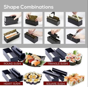 Sushi Making Mold Set(10-piece set)