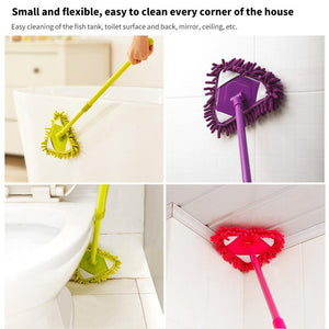 Rotating Triangle Retractable Cleaning Mop