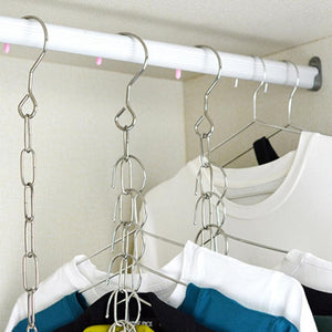 Stainless Steel Clothes Chain Hanger