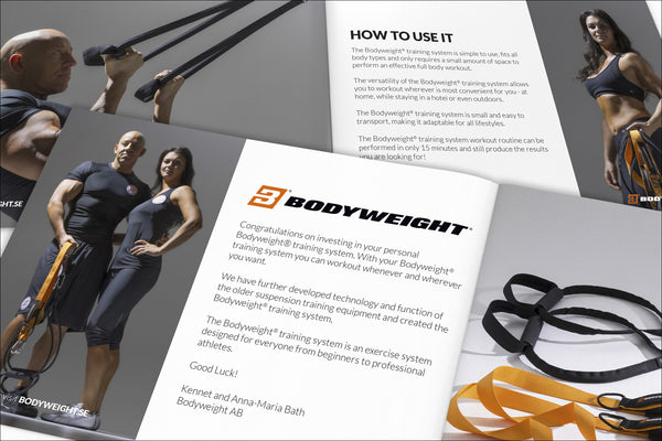 Art.nr. 120 BODYWEIGHT® BROCHURE IN ENGLISH FOR DOWNLOAD (FREE)