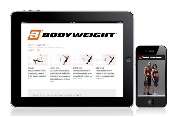 Art.nr. 119 BODYWEIGHT® MOBILE APP FOR IPHONE AND ANDROID