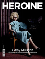 Fall Press Magazine Issue 012 - Carey Mulligan (Blue Cover) HEROINE