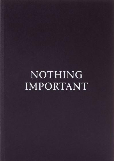 To Think - Nothing Important - Notebook-Boutique Mags