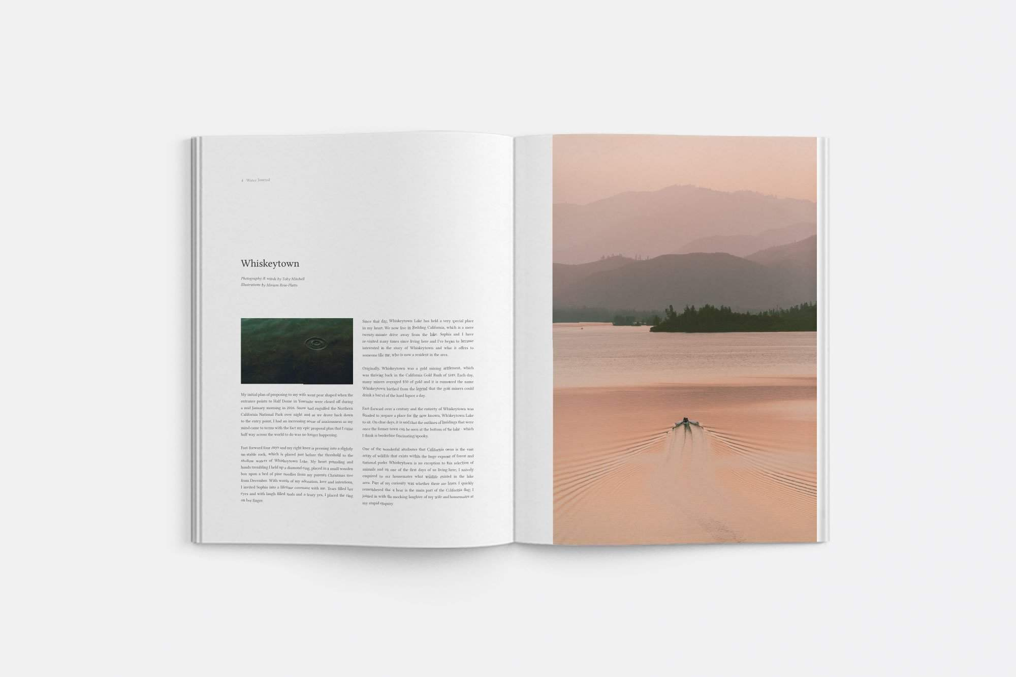 Water Journal-Boutique Mags